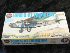 Vintage Airfix Model Aircraft Kit 1/72 Scale Ford Tri-Motor Sealed in Type 5 Box