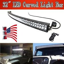 30inch 180w curved LED light bar offroad 4WD SUV boat UTE driving ATV lamp Cruze