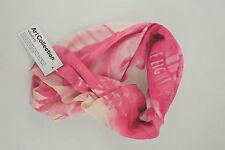 Hüftgold Tuch Schal rosa pink weiß Art collection Baumwolle neu mit Etikett