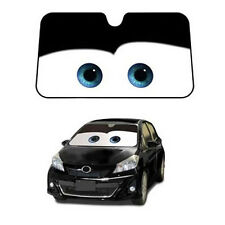 Black Car Front Windshield Sun Shade Cartoon Pixar Windscreen Sun Visor Nice