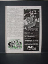 1947 Voit Sports Athletic Equipment Basketball Baseball Football Vintage Ad11672