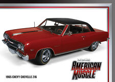 1965 Chevelle Z-16 REGAL RED 1:18 Auto World 948