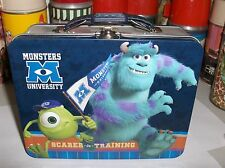 Monsters University-Scarer In Traning-W/Terry`2013`Metal Lunchbox`New`Free To US