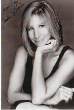Barbara Streisand ++Autogramm+Hollywood Superstar+