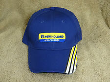 NWT NEW HOLLAND AGRICULTURE CASE IH AGCO TRACTOR COMBINE FARMING  HAT CAP