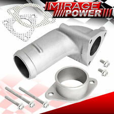 T25/T28/GT28 TURBO INLET/OULET J-PIPE SET FOR S13 S14 NISSAN 240SX MAZDA MIATA
