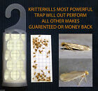 KRITTERKILL CLOTHES MOTH TRAP HOLDER WITH 2 PHEROMONE STICKY PADS