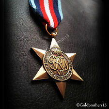 ARCTIC STAR BRITISH COMMONWEALTH MILITARY MEDAL WW2 BRITISH VETERANS NEW REPLICA