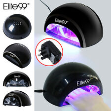 Elite99 LED Nail Lamp UV Gel Polish Curing Dryer Light Pedicure w/ Timer UK PLUG