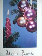 cpa cpsm noel sapin postcard christmas tree AK weihnachten carte postale ancien