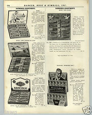 1936 PAPER AD Store Display Counter Case Pohl Hotz Hohner XLO Weiss Harmoncas