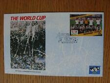 01/07/1986 World Cup Postal Cover: CC 1070 - Argentina Crowd Scene Close Up - St