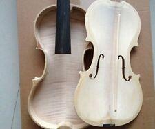 """4/4 Violin nice copy """"Laurentius Guadagnini""""1746 Unvarnished top & back unglue"""