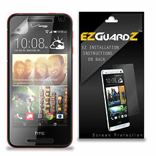 6X EZguardz NEW Screen Protector Skin Cover HD 6X For HTC Desire 612 (Clear)