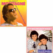 ★☆★ CD Single Gilbert Montagné  David & Jonathan Les sunlights des tropiques ★☆★