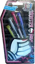 Monster 'High Gel' Pen Stationery Brand New Gift