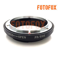 FD-EOS Digital Auto Focus Lens Mount Adapter No Glass For Canon FD to EOS EF 5D