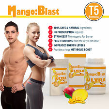 90 AFRICAN MANGO T5 EXTREME FAT BURNER WEIGHT LOSS DIET PILLS LOSE 14LBS FAST