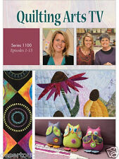 NEW! Quilting Arts TV Series 1100 With Pokey Bolton [DVD]