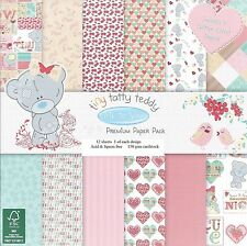 ME TO YOU TINY TATTY TEDDY GIRL PREMIUM PAPER 6 X 6 SAMPLE PACK  12 SHEETS