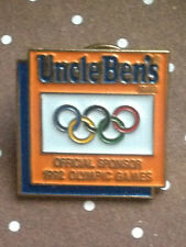 OLYMPIC PIN´S - UNCLE BENS 1992 OFFICIAL SPONSOR - GAMES - PIN OLIMPICO  (E406)