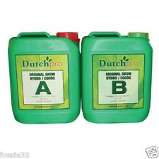 Dutch Pro - Original Grow - Hydro/Coco A&B - Hard Water - 5 Litre