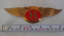 BENTLEY OLD SHAPE Turbo R Brooklands Arnage FRONT RADIATOR BADGE EMBLEM GENUINE