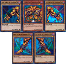 YuGiOh SET of all 5 Exodia cards Yugi's Legendary Decks YGLD Ultra Rare MINT!!