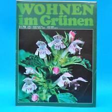 DDR Wohnen im Grünen 3/1979 Verlag für die Frau U Zoo Leipzig Trockenblumen