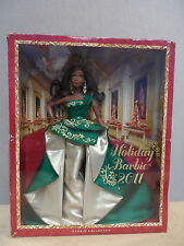 NEW Mattel 2011 Holiday Barbie African-American Doll Collector T7915 + Free Ship