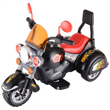 Kids Ride On 3 Wheel Harley Style Motorcycle 12V Battery Powered Electric Toy