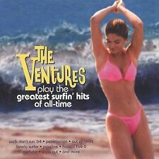 The Ventures Play the Greatest Surfin' Hits Of All-Time Ventures Audio CD