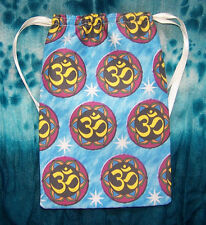 OM Chakra Design Tarot card bag, ideal for most fairy, angel & Wicca tarot cards