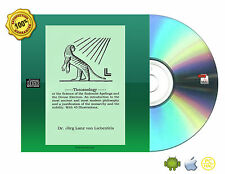 Theozoology by Lanz von Leibenfelds Book On CDROM