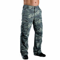 Mens Motorbike Motorcycle Trousers Jeans Camouflage With Protective Lining