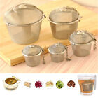 Stainless Steel Infuser Strainer Mesh Tea Filter Spoon Locking Spice Ball Herbal