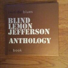 CD BOOK - I MITI DEL BLUES - ANTOLOGY - BLIND LEMON JEFFERSON - RARITY
