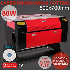 80W Graviergerät Laser gravier Engraving Laser-Cutter schneider Fräsmaschine