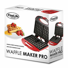 WAFFLE MAKER  PRO. DUO DELUXE( NONSTICK)  FAB. BUY!!!
