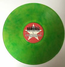 "THE RAMONES 2X 12"" Green Color vinyl LP WE'RE A HAPPY FAMILY record Pearl Jam"