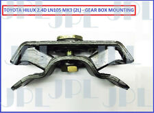 Toyota Hilux/Surf 2.4D MK3 LN105 4X4 Gearbox Mounting  - New (08/1988-07/1997)