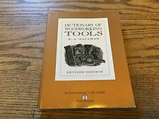 DICTIONARY OF WOODWORKING TOOLS BY R. A. SALAMAN, 1990