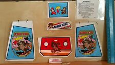 decals for electronic coleco tabletop mini arcade donkey kong french version