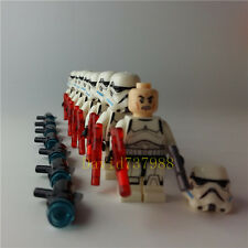 8pcs/lot Minifigures Star Wars Stormtrooper Compatible Lego Building Blocks Toy
