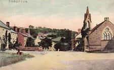 Thropton Nr Rothbury unused old postcard Ruddock Ltd