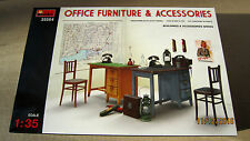 OFFICE  FURNITURE & ACCESSORIES    1/35  by Mini Art  # 35564 NEW!!!