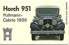 RARE / CARTE TELEPHONIQUE - HORCH 951 PULLMANN CAB 1939 / VOLKSWAGEN / PHONECARD