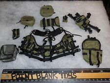 MINI TIMES Vest & Pouches USSOCOM NAVY SEAL UDT AGA MASK VER 1/6 ACT FIGURE TOYS