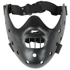 Silence of the Lambs Hannibal Lecter Black Resin Prop Replica Halloween Mask