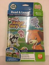 Leapfrog Tag Sticker Book Pet Pals Sticker Story Time 4-8 Years